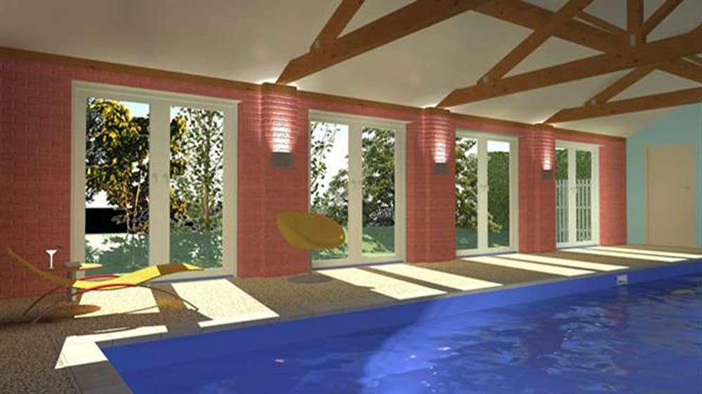 Proposed swimming pool room design planning associates ltd for Pool room design uk
