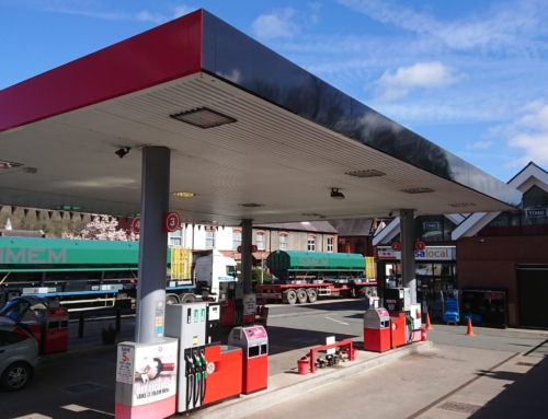 Stan's Store and Fuel Station in Llangollen