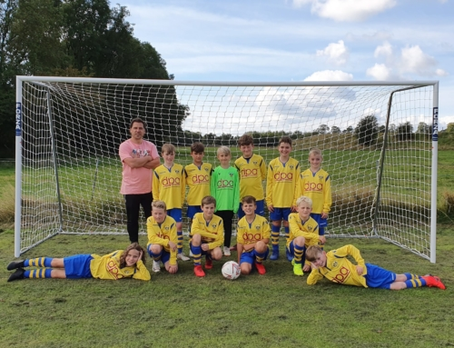 DPA sponsors new kit for U11 Oswestry Boys and Girls 2019/2020 season!