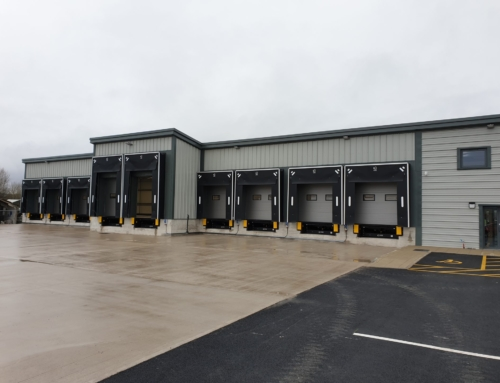 New Cross Docking Facility, Castell Howell Foods.