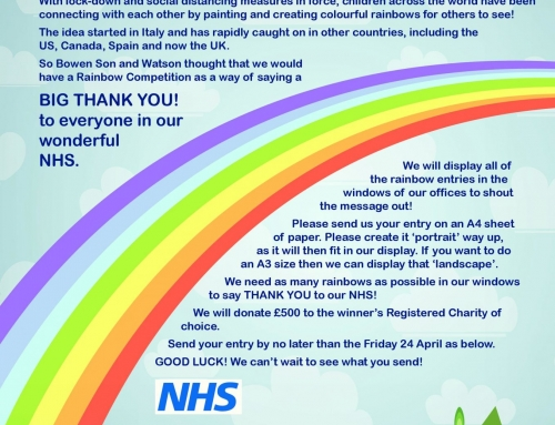 Create a Rainbow Competition and say a big thank-you to the NHS!